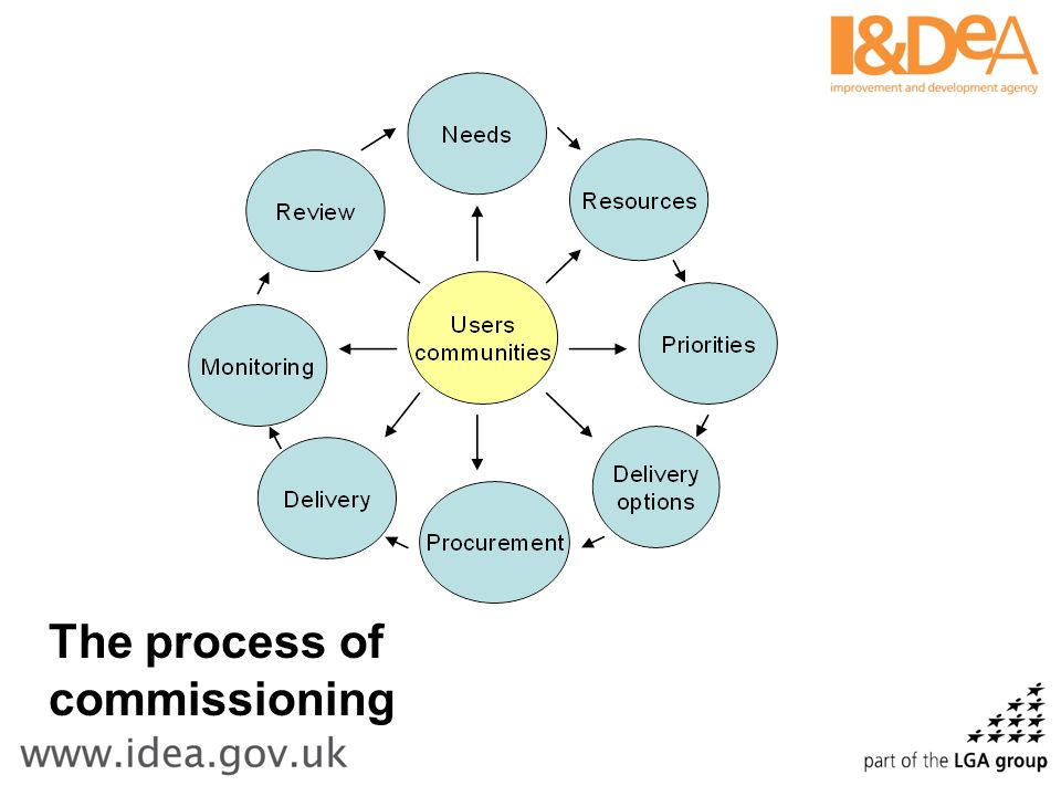 The process of commissioning