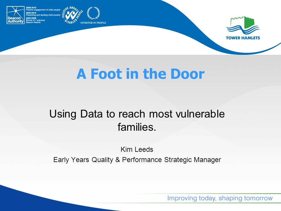Homeless Families – Scale & Needs Project Methodology Snapshot Results & Outcomes Next Steps