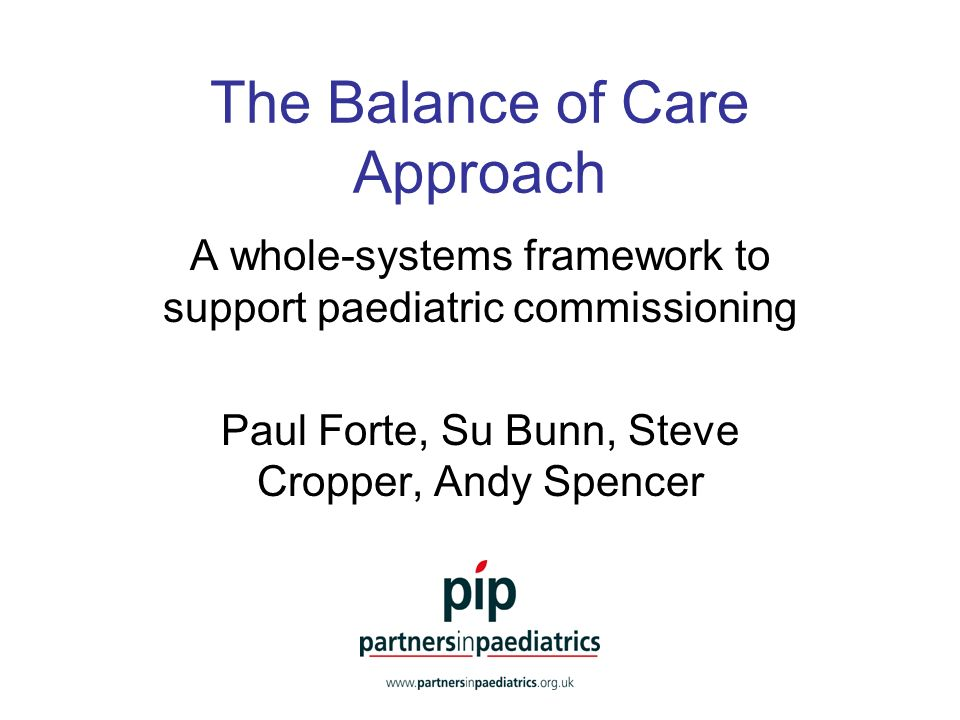 Issues in developing and commissioning services Taking a whole-systems perspective Developing a needs-led rather than service-driven view Quantifying resource implications Developing a common language between clinical and non-clinical stakeholder interests