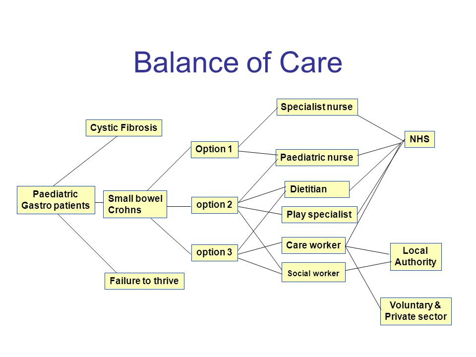 Example care options