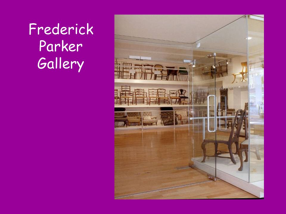chairs Frederick Parker Gallery