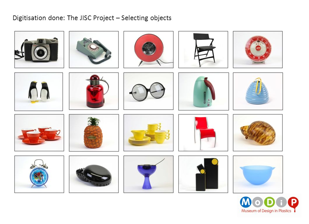 Digitisation done: The JISC Project – Selecting objects
