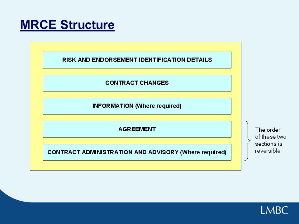 MRCE Structure