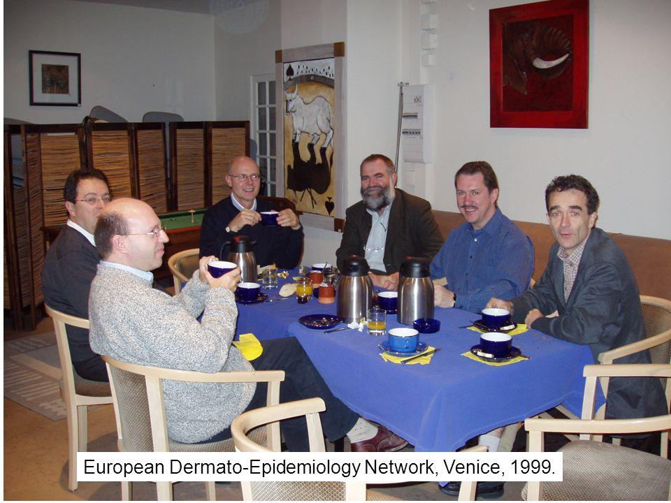 European Dermato-Epidemiology Network, Venice, 1999.