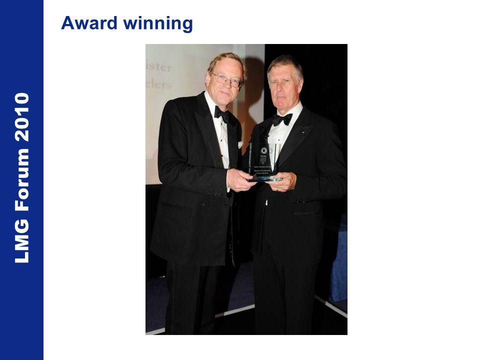 LMG Forum 2010 Award winning