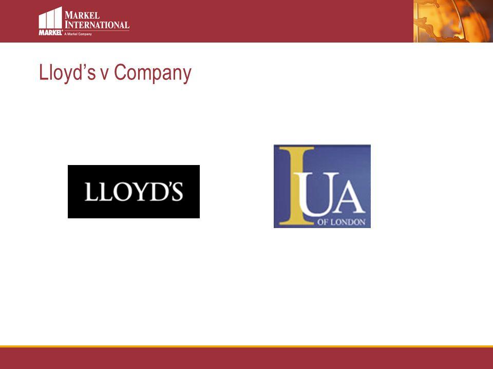 Lloyds v Company