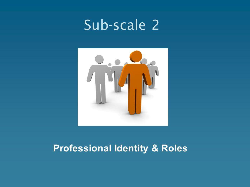 Professional Identity & Roles Sub-scale 2