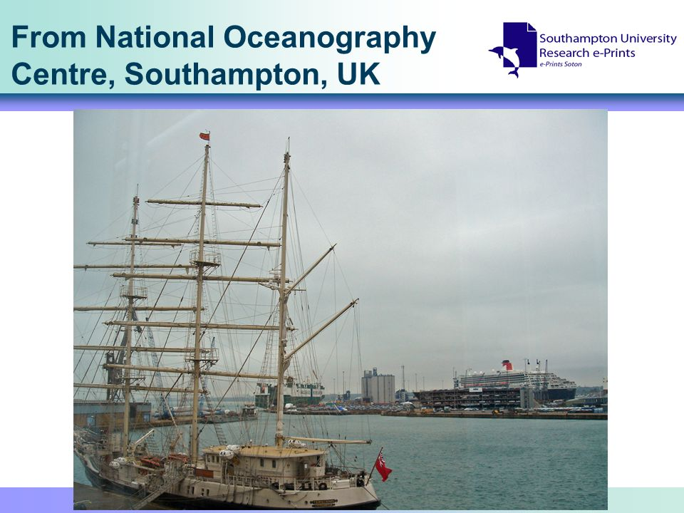 From National Oceanography Centre, Southampton, UK