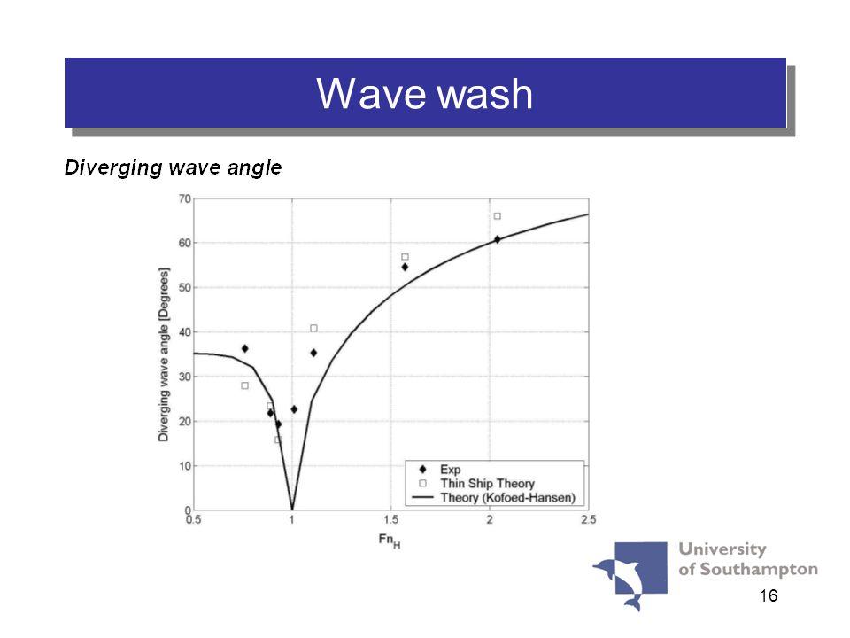 16 WASH Wave wash