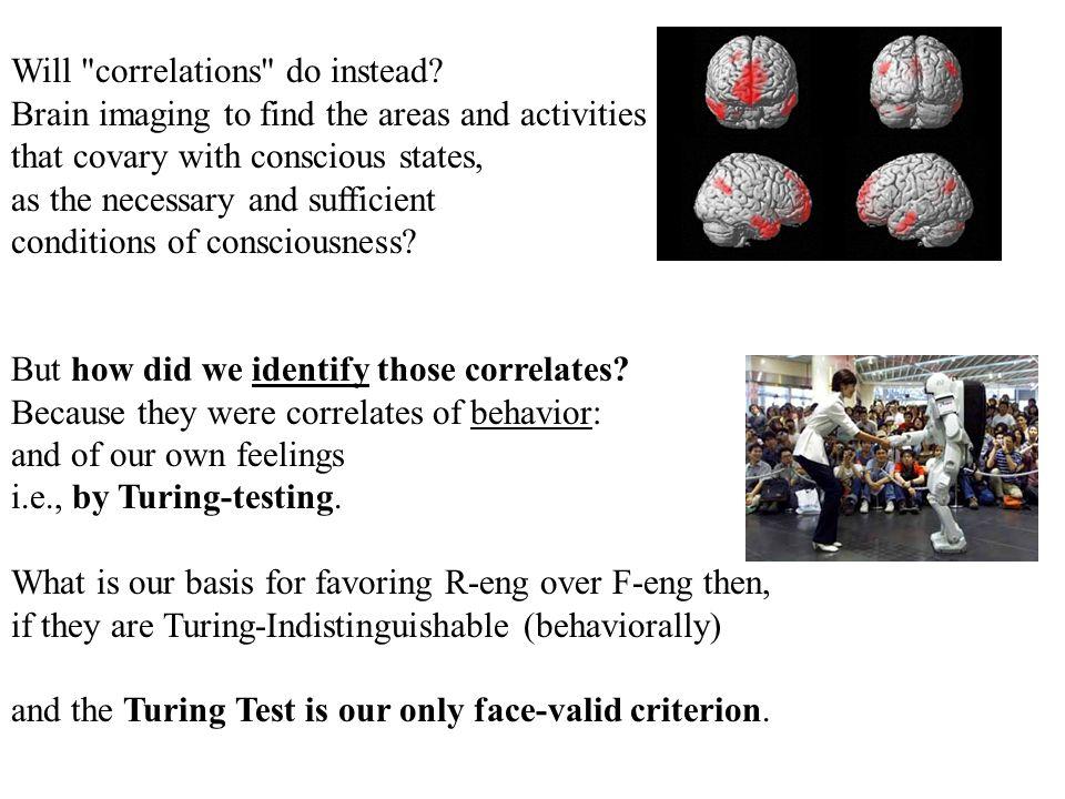 Will correlations do instead.