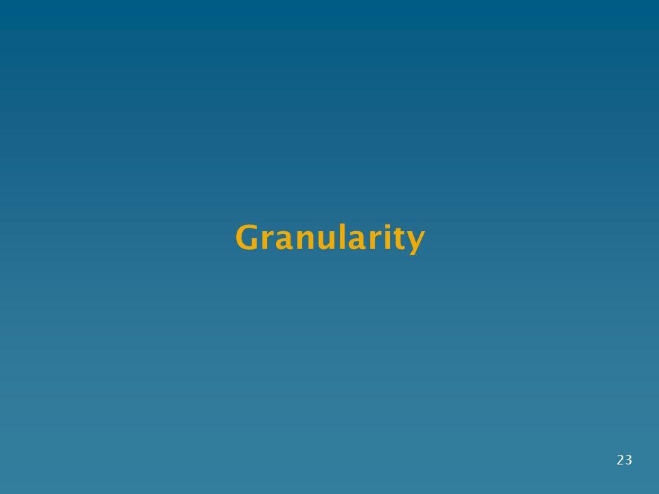 Granularity 23