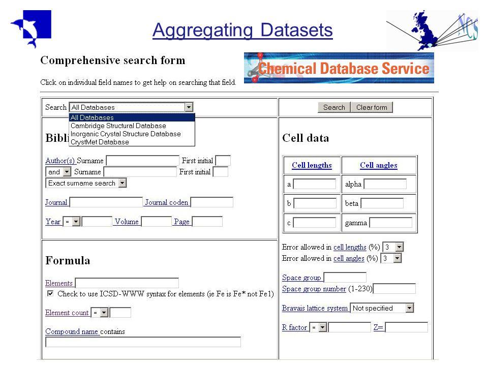 Aggregating Datasets
