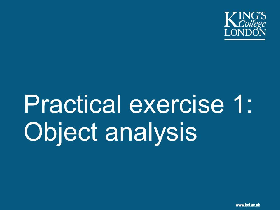 2 Exercise overview Analyse the content of an email Analyse structure of email message Determine purpose that each technical property performs Consider how email will be used by stakeholders Identify set of expected behaviours Classify set of behaviours into functions for recording