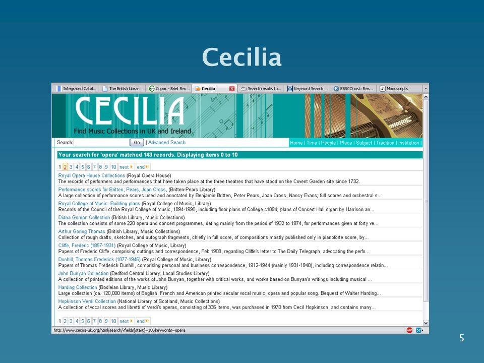 5 Cecilia