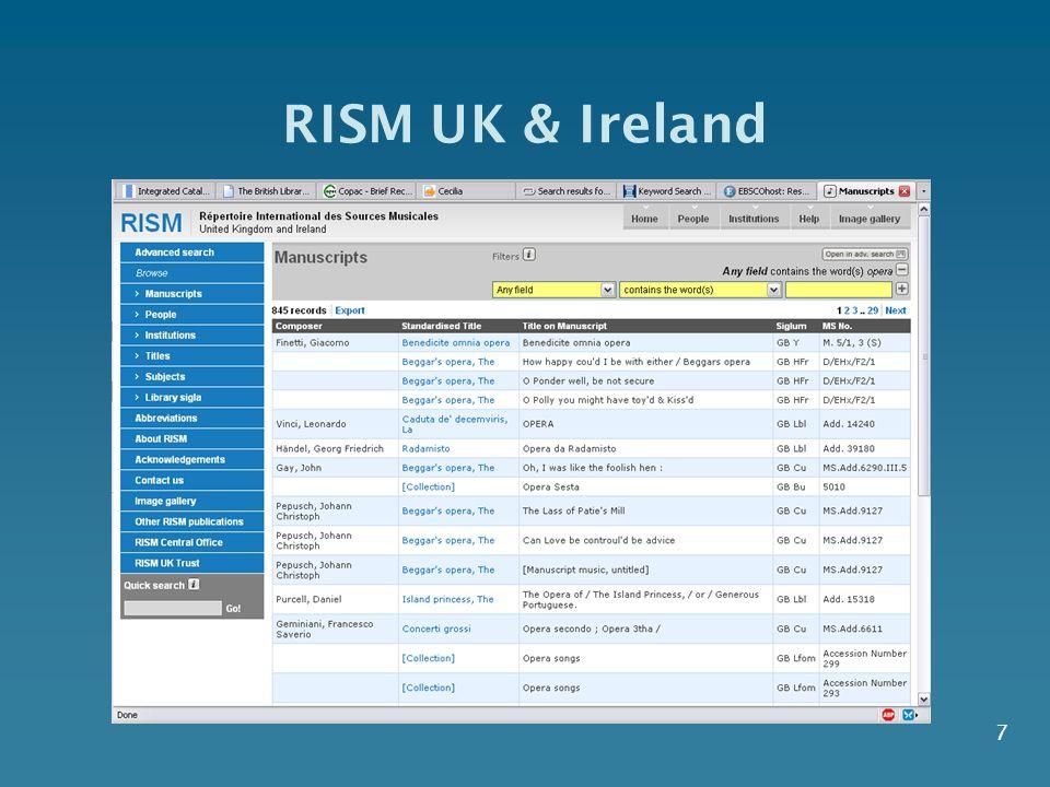 7 RISM UK & Ireland