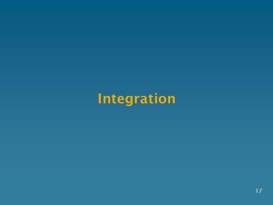 Integration 17