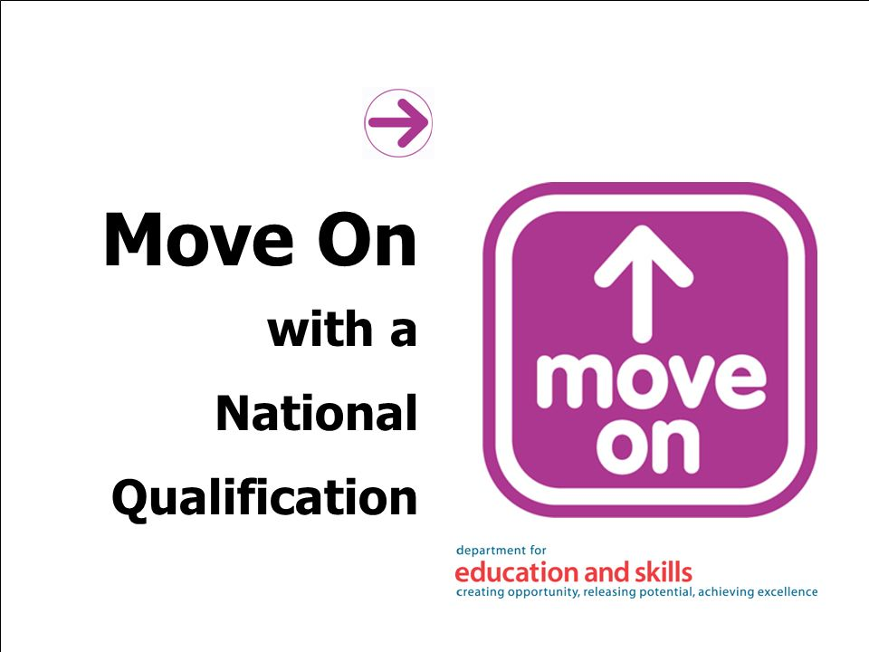 Move On with a National Qualification
