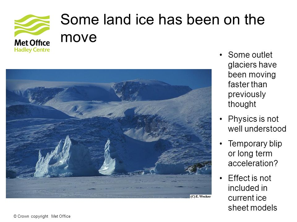 © Crown copyright Met Office Has the MOC been changing recently.