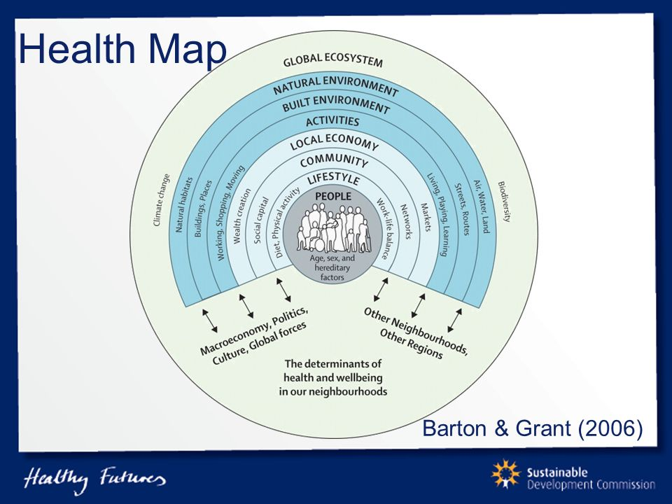 Health Map Barton & Grant (2006)