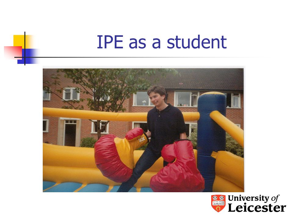 IPE as a student