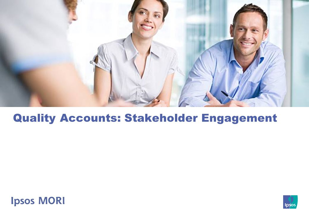 Quality Accounts: Stakeholder Engagement