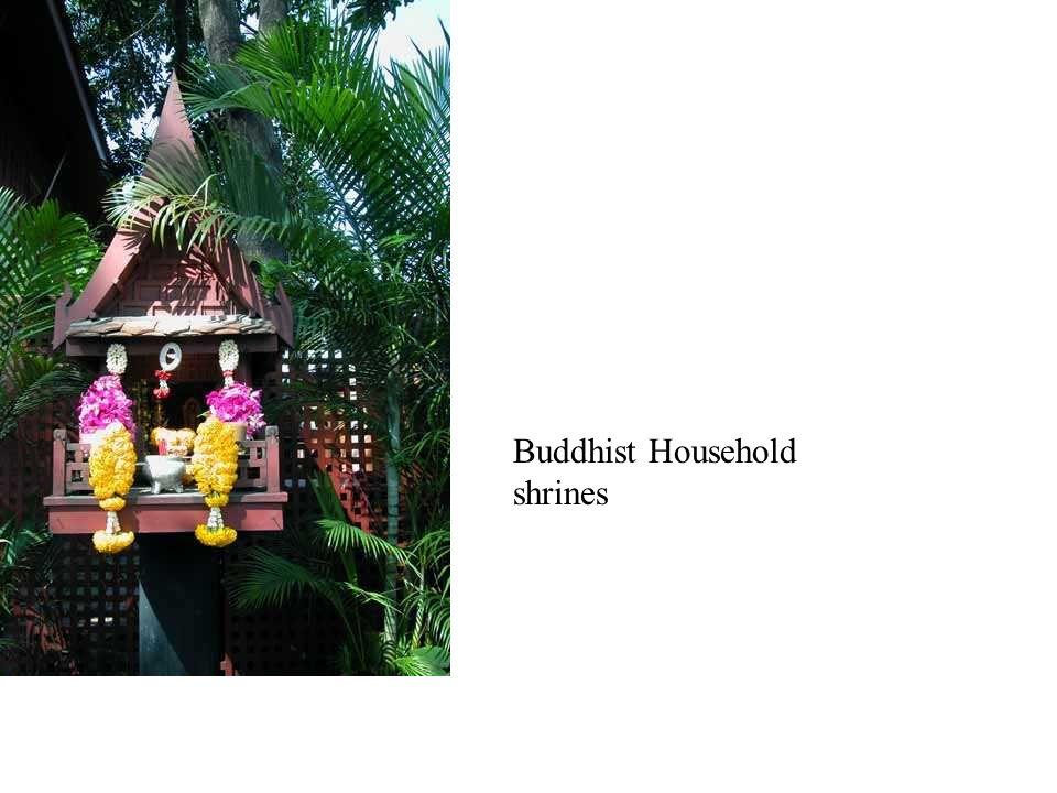 Buddhist Household shrines