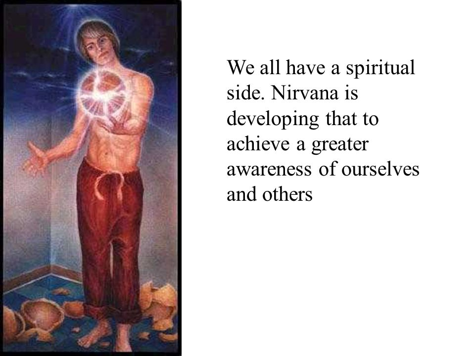 We all have a spiritual side.