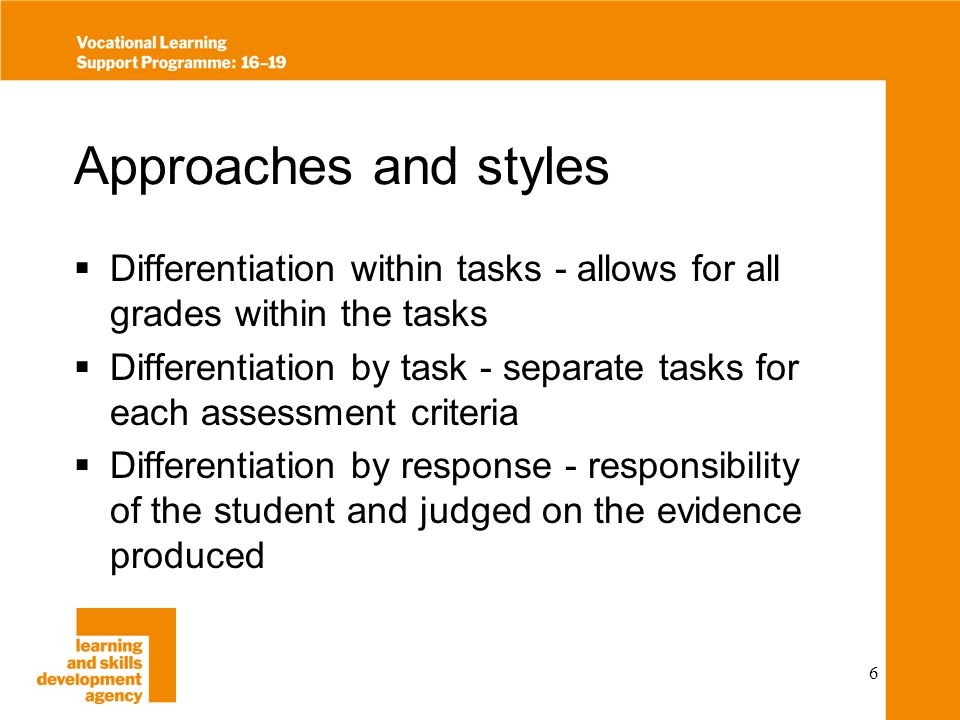 7 Use of Templates Consistency of approach across a whole team/subject area Students and staff become familiar with expected format Helps to ensure everything is covered