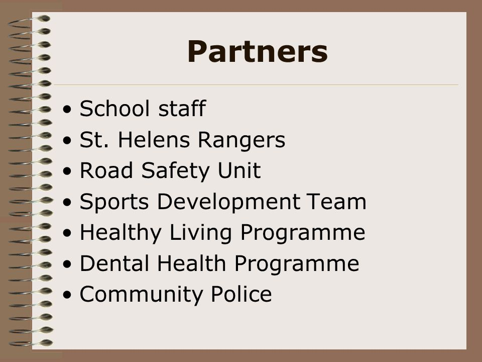Partners School staff St.