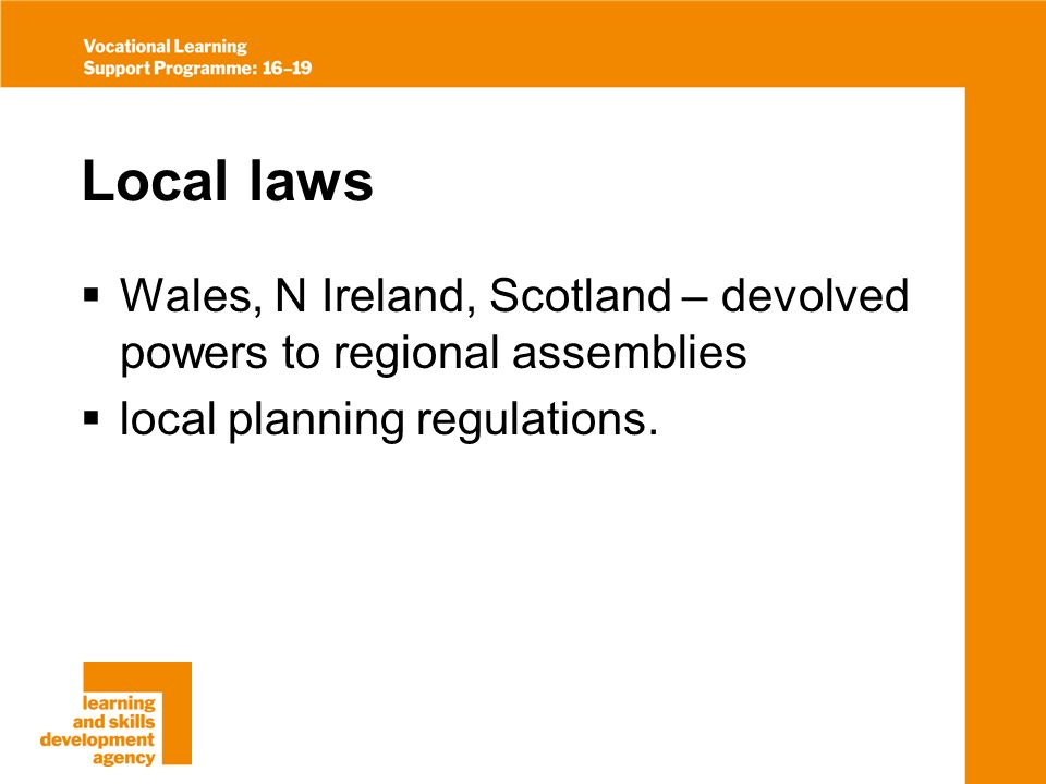 Codes of practice Industry standards – voluntary standards setting out good practice.
