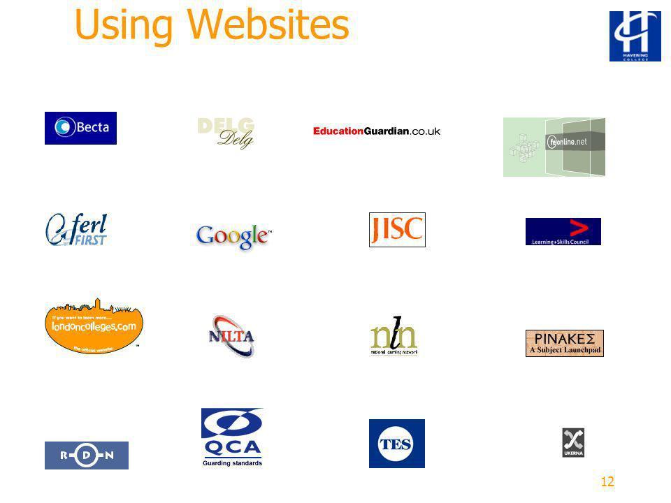 12 Using Websites