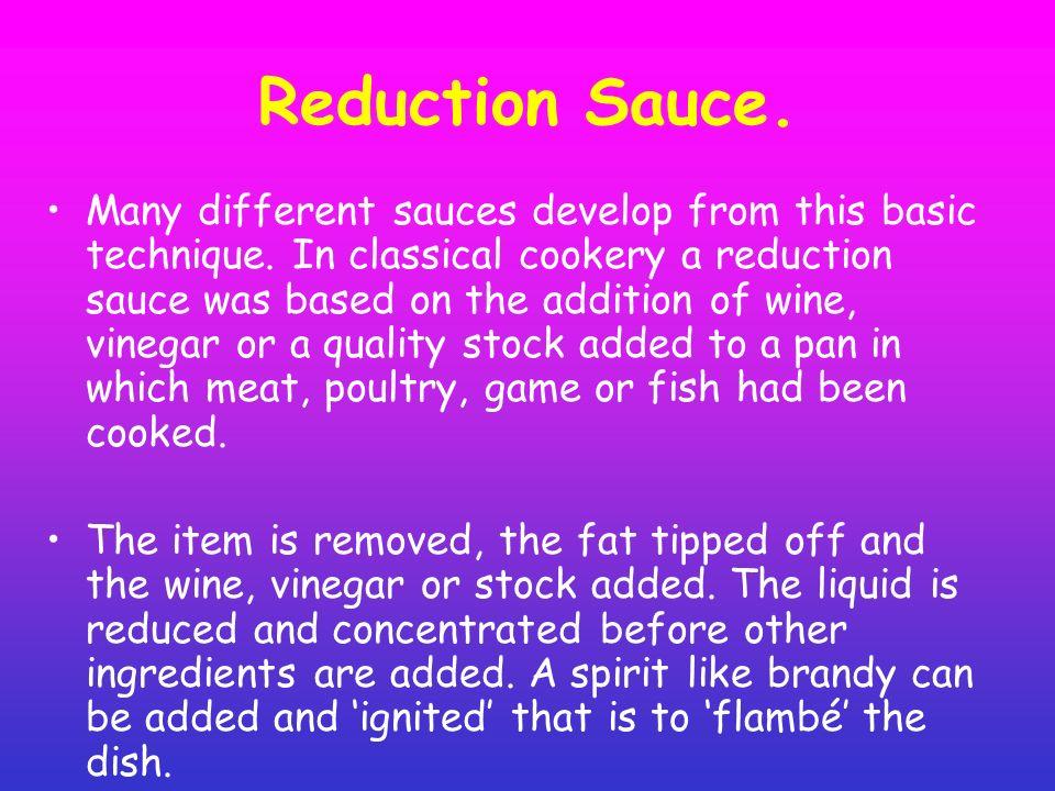 Oil And Vinegar Based Sauce.