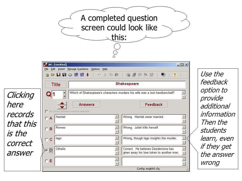 Click here to save as a JQuiz Master file – this is the one you can use to edit your quiz.