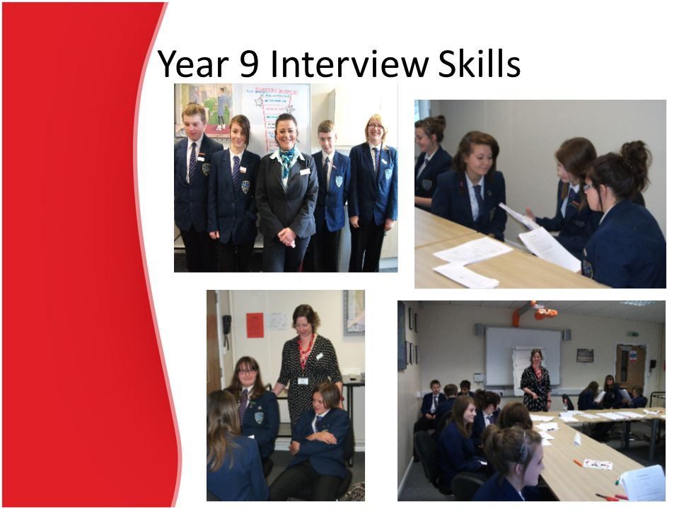 Year 9 Interview Skills