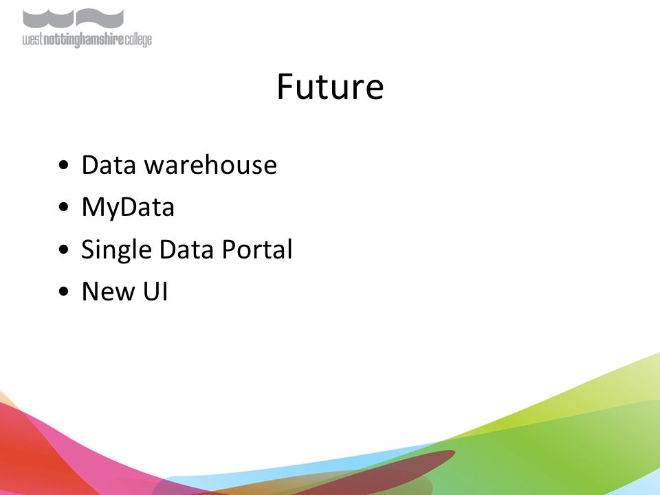 Future Data warehouse MyData Single Data Portal New UI
