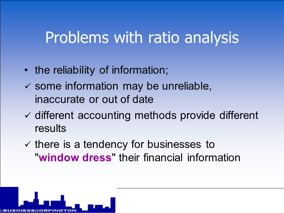 Uses of ratio analysis ratio analysis is a powerful tool in the interpretation of financial accounts and provides a scientific basis for basing decisions on however, like other quantitative techniques there is a tendency to attach too much importance to ratios