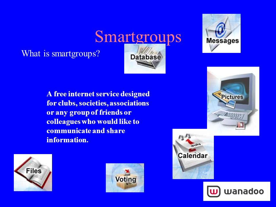 Smartgroups Main Page