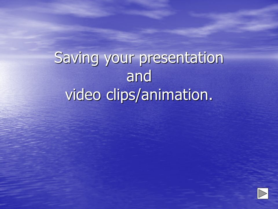 OR You can add clips from a floppy disc or CD On the Toolbar Click on Insert Scroll down to Movies and Sounds Scroll across to Movie from File And click Then select the appropriate location