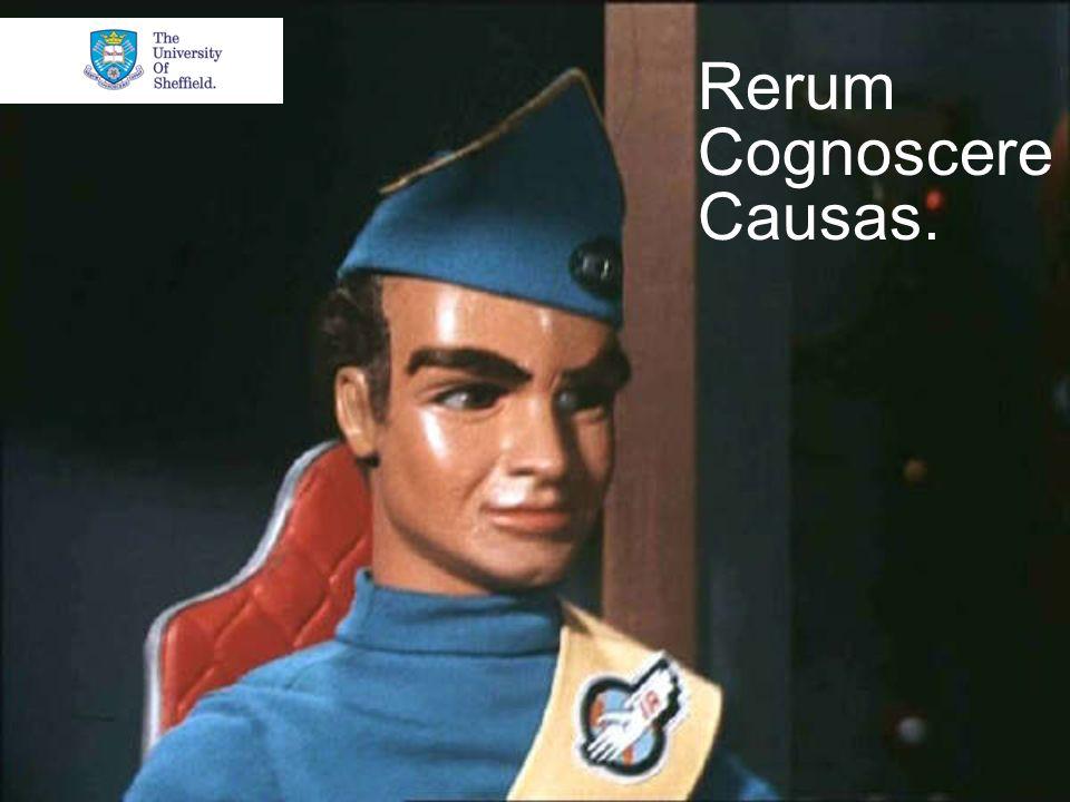 Rerum Cognoscere Causas.