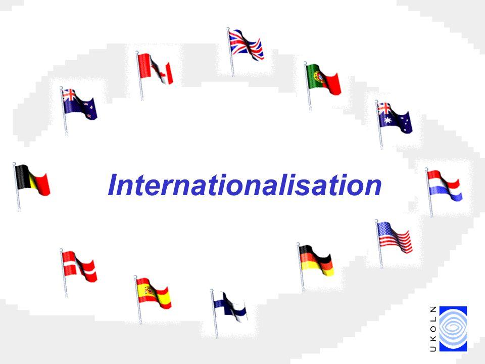 Internationalisation