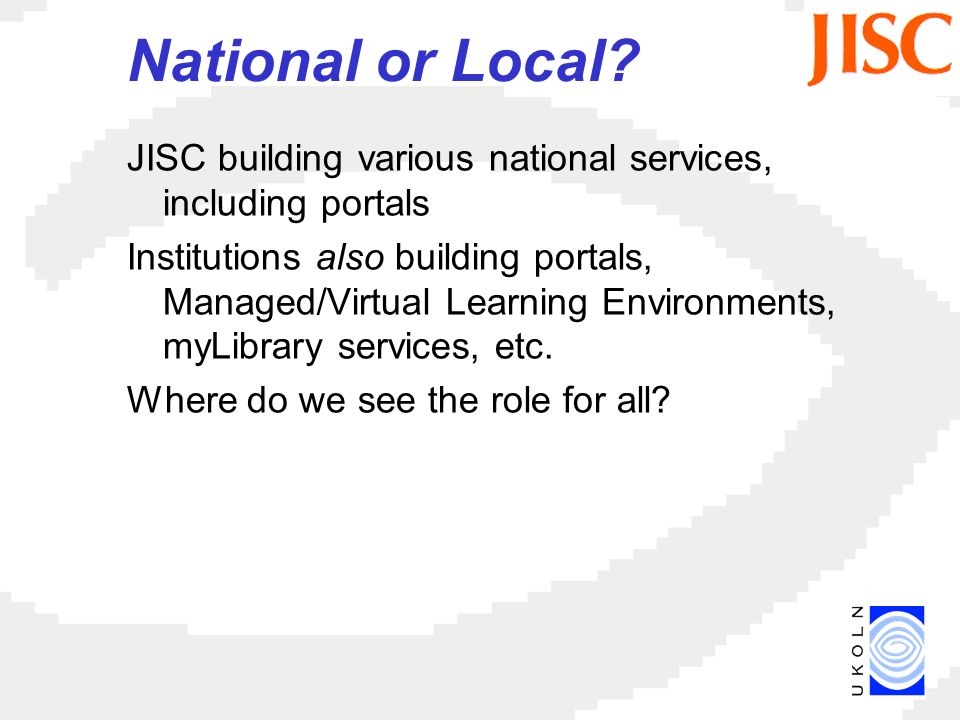 National or Local.