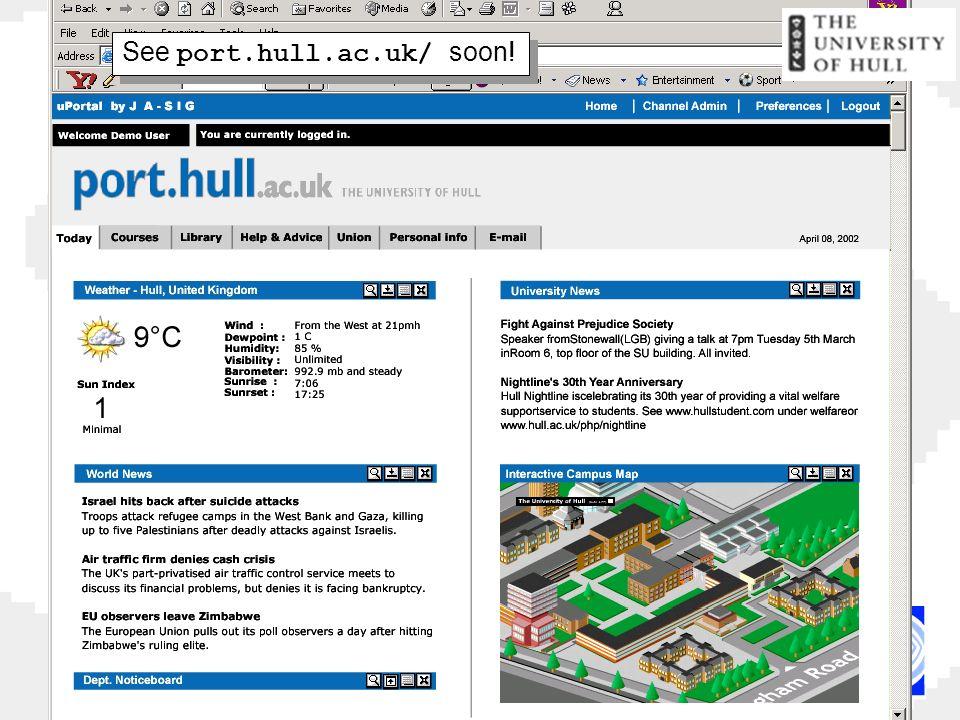 See port.hull.ac.uk/ soon!