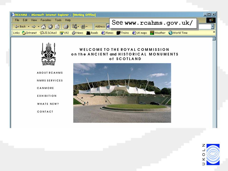 See www.rcahms.gov.uk/
