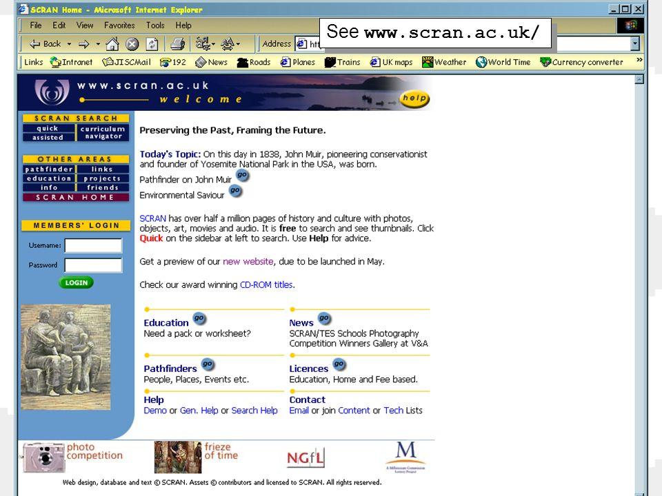 See www.scran.ac.uk/