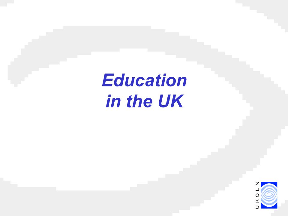Education in the UK