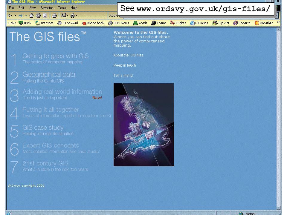32 See www.ordsvy.gov.uk/gis-files/