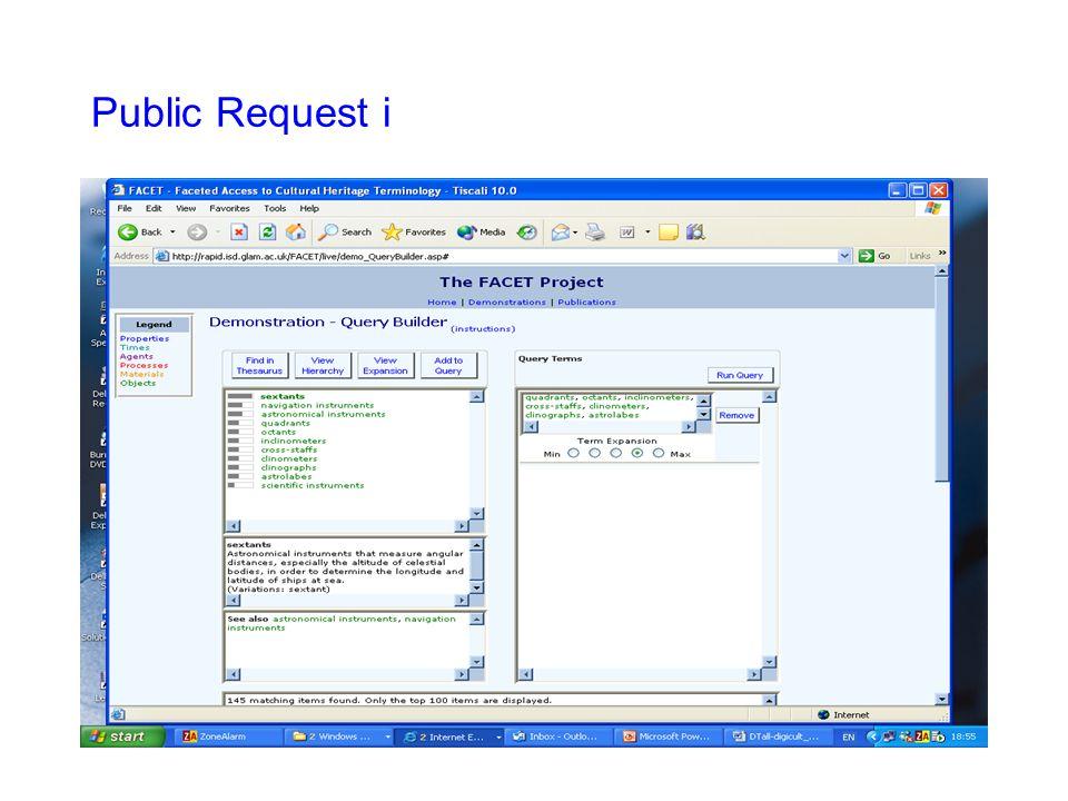 Public Request i