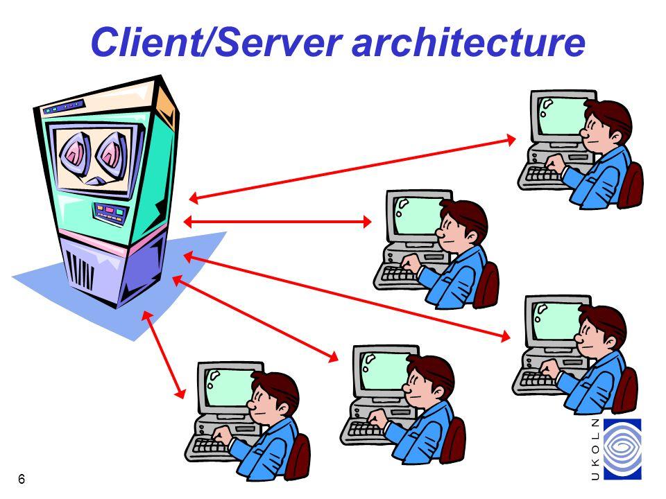6 Client/Server architecture