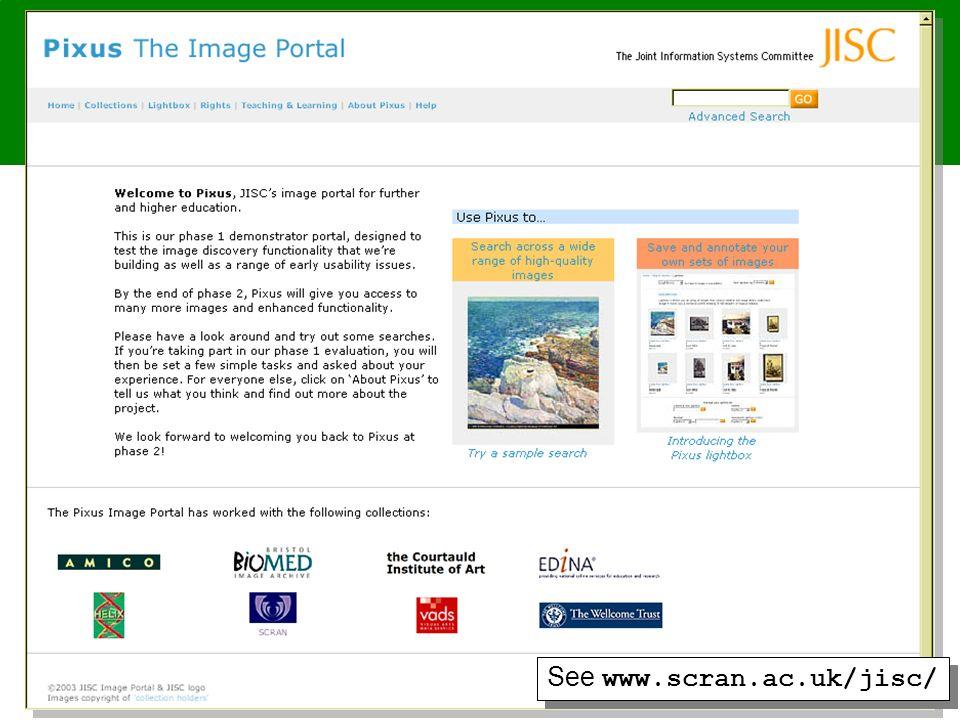 www.fair-portal.hull.ac.uk/ See www.scran.ac.uk/jisc/