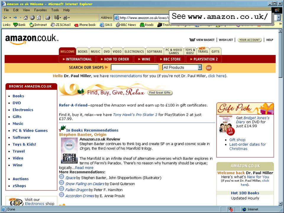 19 See www.amazon.co.uk/